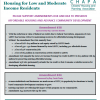 Housing Bond Bill Amendment Fact Sheet