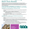 Amendments to H.4314, An Act Regulating Short-Term Rentals