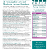 Housing Bond Bill Fact Sheet, S.2368 - As Reported Out by Senate Ways and Means