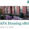 CHAPA Housing Briefs - September 13, 2018