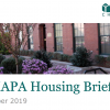 CHAPA Housing Briefs October 2019