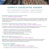CHAPA's Legislative Priorities - Spring 2020