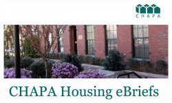 CHAPA Housing eBriefs January 10, 2019
