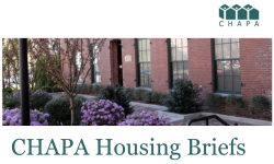 CHAPA June 2019 Housing Briefs