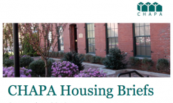 CHAPA Housing Briefs September 2019