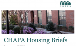 CHAPA Housing Briefs January 2020