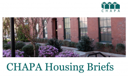 CHAPA Housing Briefs May 2020