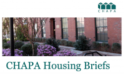 CHAPA September 2020 Housing Briefs